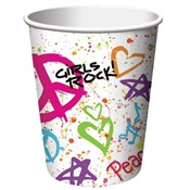 Girls Rock! Hot/Cold Cups (8pkg)
