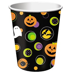 Halloween Dots Hot/Cold Cups (25/pkg)