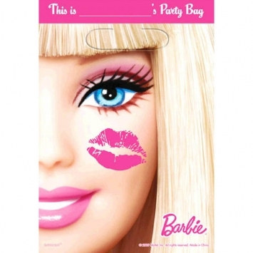 Barbie Loot Bags (8/pkg)
