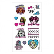 Monster High Tattoos (16/pkg)