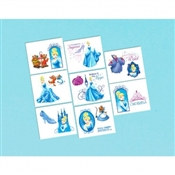 Cinderella Tattoos (16/pkg)