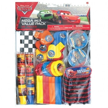 Cars Mix Value Party Favors
