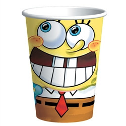 Spongebob Hot/Cold Cups (8/pkg)