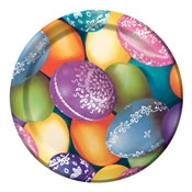 Decorative Eggs Dessert Plates (8/pkg)