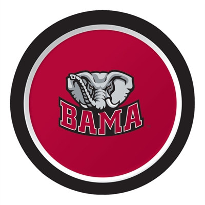 University of Alabama Dessert Plates (8/pkg)