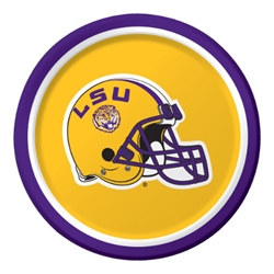 LSU Dessert Plate (8 per package)