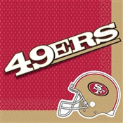 San Francisco 49ers Lunch Napkins (16/pkg)