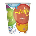 Birthday Pops Hot/Cold Cups (8/pkg)
