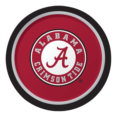 University of Alabama Lunch Plates (8/pkg)