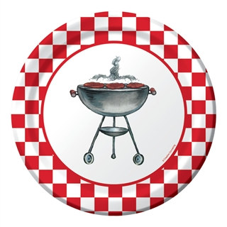 Grillin' Classic Lunch Plates (8/pkg)
