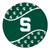 Michigan State University Lunch Plates (8/pkg)
