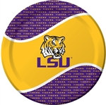 Louisiana State University Lunch Plates (8/pkg)