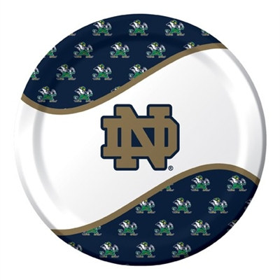 University of Notre Dame Lunch Plates (8/pkg)