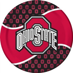 The Ohio State University Lunch Plates (8/pkg)