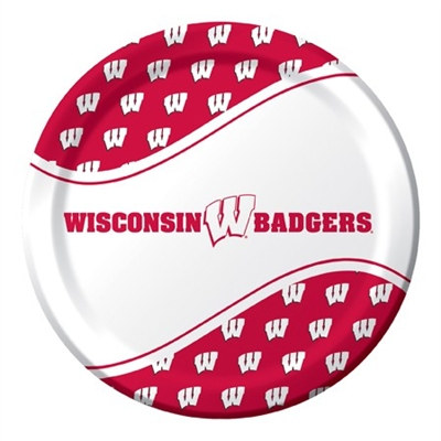 University of Wisconsin Lunch Plates (8/pkg)