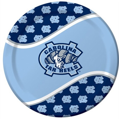 University of North Carolina Lunch Plates (8/pkg)