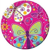 Butterfly Birthday Lunch Plates (8/pkg)