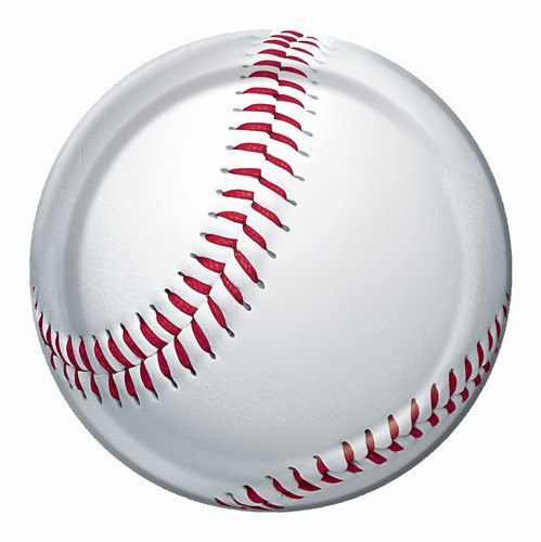 Baseball Paper Plate  sc 1 st  Party Cheap & Baseball Paper Plate - PartyCheap
