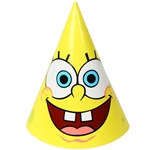 Spongebob Party Hats (8/pkg)