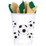 Soccer Fan Plastic Cups (8 per package)