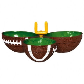 Plastic Football Condiment Dish
