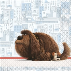 Secret Life of Pets Luncheon Napkins