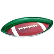 Plastic Football Shaped Serve Platter