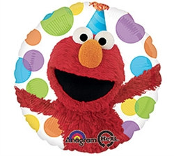Elmo Mylar Balloon