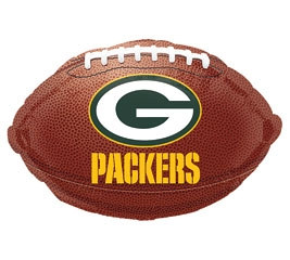 Green Bay Packers Mylar Balloon