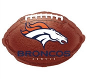 Denver Broncos Mylar Balloon