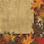 These beautiful, high quality napkins will set the warm, welcome home style of your decor, & are part of our Autumn Leaves tableware collection.