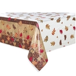 Protect your table and decorate at the same time with our beautiful, classy, & high quality Rustic Autumn Leaves Plastic Tablecover.  Used with our Autumn Leaves napkins and drink-ware your decor will be complete.