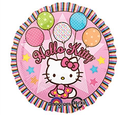 Hello, Kitty Mylar Balloon