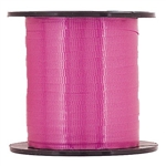 Magenta Curling Ribbon is a 500 yard spool of 3/16 inch crimped ribbon. Perfect for gift wrap accents and tying to balloons. One spool per package.