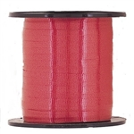 The Red Curling Ribbon measures 3/16 inches and contains 500 yards per spool. Sold one (1) spool per package.