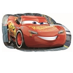 The Cars Lightning McQueen Balloon is a full color printed metallic foil balloon featuring the famous Cars character Lightning McQueen. After you inflate with helium, the large 30-inch balloon will grab the attention of all of your guests. One per pack.