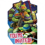 Teenage Mutant Ninja Turtles Invitations (8/pkg)