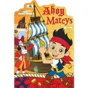 Jake and the Neverland Pirates Invitations (8/pkg)