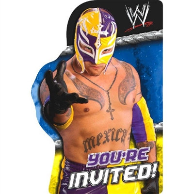 WWE Invitation (8/pkg)