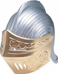Adult Plastic Knight Helmet