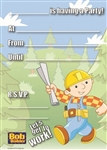 Bob the Builder Invitations (20/pkg)