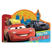 Cars Invitations (8/pkg)