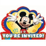 Mickey Mouse Invitations (8/pkg)
