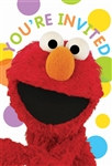 Sesame Street Party Invitations (8/pkg)