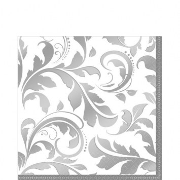 25th Anniversary Beverage Napkins (16/pkg)