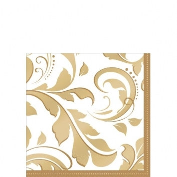 50th Anniversary Beverage Napkins (16/pkg)
