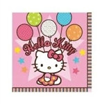 Hello Kitty Beverage Napkins (16/pkg)