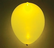 Glow Yellow Latex Balloon
