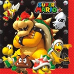 Super Mario Brothers Luncheon Napkins
