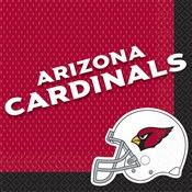 Arizona Cardinals Lunch Napkins (16/pkg)
